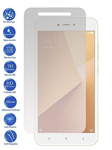 Todotumovil Protector de Pantalla Xiaomi Redmi Note 5A de Cristal Templado Vidrio 9H para movil