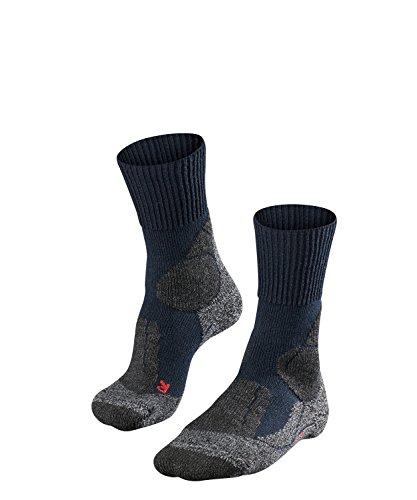 Falke TK 1 - Calcetines de Senderismo para Hombre, tamaño 42-43, Color Marina