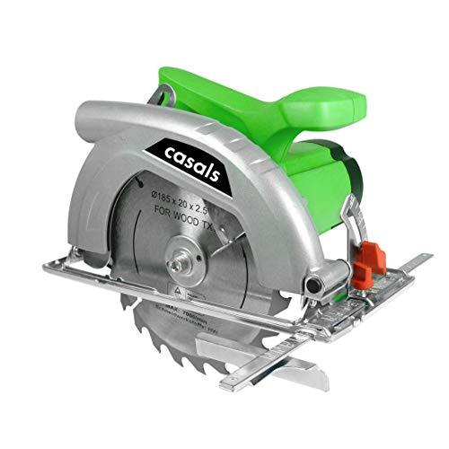 Casals C05109000 Sierra Circular W, 230 V, Verde, Acero inoxidable, 1200 Watios