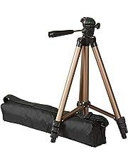 Amazonベーシック カメラ三脚 120cm 3段 3WAY雲台 アルミ 収納ケース付き