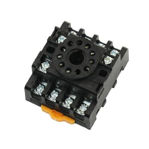 Aexit Ersatz PF113A 11 Schraubklemmen Hutschienen-Relaissockel für JTX-3C (bdd029eb36d4aba425a67b58ed80f86c)