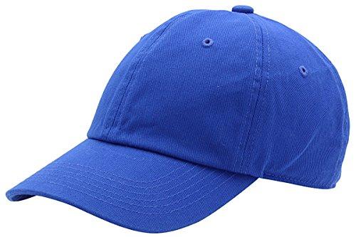 Top Level Baseball Cap Men Women-Cotton Dad Hat Plain,Roy Royal Blue