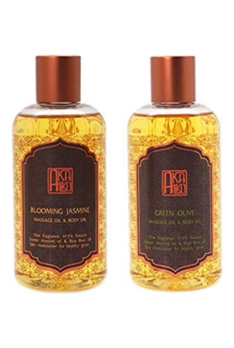 Lowest Price! AKALIKO Body Oil and Massage Oil Set 1.