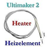 UM2 - Cartucho calefactor (24 V, 35 W, 4 x 15 mm)