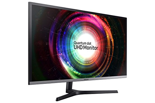 Samsung UH850 Series 31.5 inch 4K QHD 3840x2160 QLED Desktop Monitor for Business, AMD FreeSync, DisplayPort, USB Hub, 3-Year Warranty (U32H850UMN)