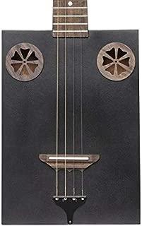 James Neligan Model CASK-FIRKCOAL Acoustic 4-String Cigar Box Guitar
