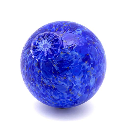 Blue Pond Floats Balls - Available in 3 inches, 4 inches, 5 inches & 6 inches - Blown Glass - Made in Seattle - Dehanna Jones