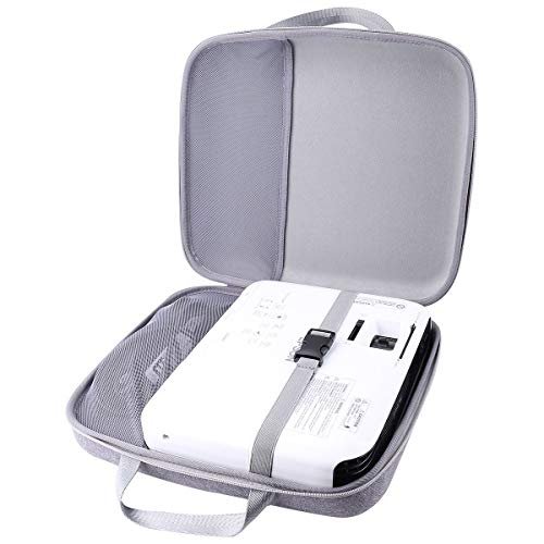 Aenllosi Hard Carrying Case Replacement for Epson VS240/VS250 SVGA 3LCD Projector 3000 Lumens Color Brightness