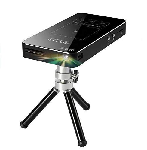 Proyector Mini Portátil, OTHA Mini Proyector Android 7.1,DLP Proyector Soporte Full HD 1080P Bluetooth HDMI,con Tripod Remote touchpad