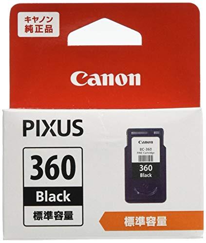 Canon 純正 インクカートリッジ BC-360 ブラック