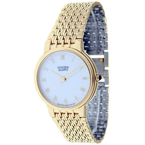 Citizen AC-7701-51A - Reloj de Pulsera, Color Dorado