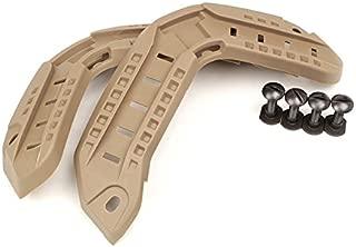 DLP Tactical ARC Accessory Rail Kit for Maritime/Super High Cut Combat Helmet