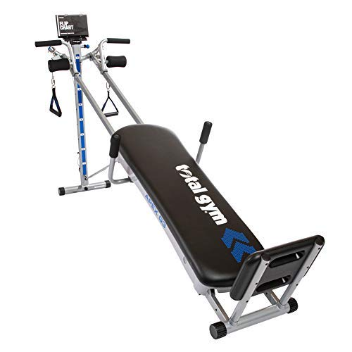 Total Gym APEX G3 Versatile Indoor Home Workout Total Body Strength Training Fitness Equipment with 8 Levels of Resistance and Attachments