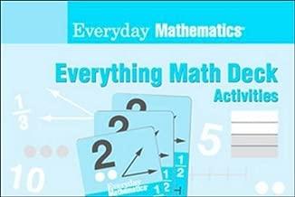 Everyday Math Deck Activities Teacher Edition