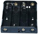 AERZETIX: Portapilas para 4 Pilas Tipo AAA LR03 - C3427