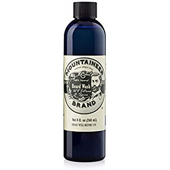 Beard Wash by Mountaineer Brand (8oz) | WV Citrus & Spice Scent | Premium 100% Natural Beard Shampoo