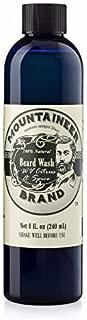 Beard Wash by Mountaineer Brand (8oz) | WV Citrus & Spice Scent | Premium 100% Natural Beard Shampoo