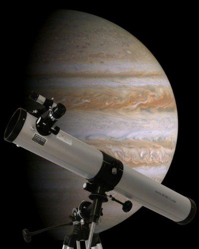 """900-76 EQ2 Telescopio riflettore con accessorio """"Big Pack"""" incluso"""