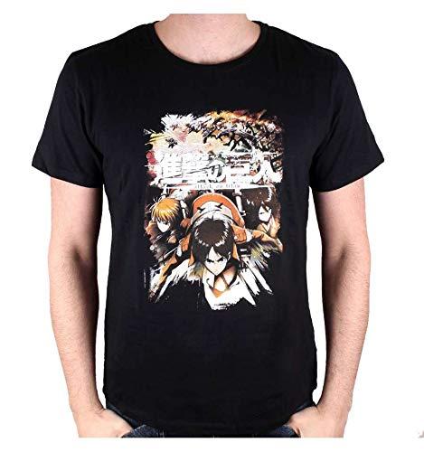 Cotton division T-Shirt L'Attaque des Titans - Crew Fight