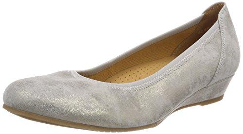 Gabor Shoes Damen Comfort Sport Geschlossene Ballerinas, Beige (Taupe), 38.5 EU