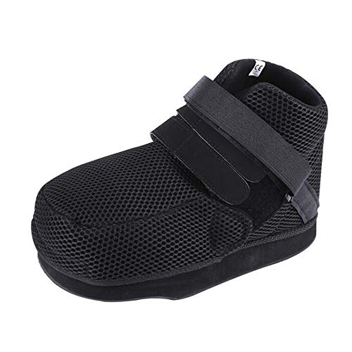 Open teen gips gegoten schoen, post-op hak gewicht lagerschoen, voor patiënten om gewicht te offload in voorvoet regio, geschikt voor zowel mannen als vrouwen, past ofwel links of rechts voet, verwijderbaar