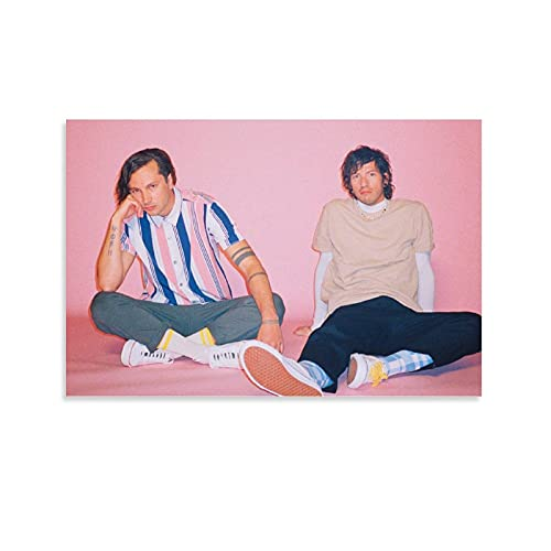 Póster de Twenty One Pilots 2021 en lienzo y arte de pared con impresión moderna para dormitorio familiar, 20 x 30 cm