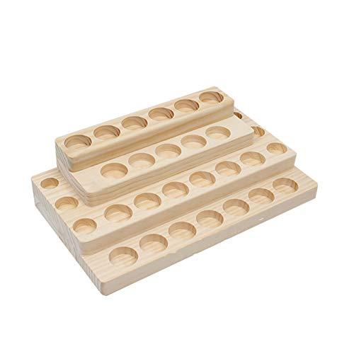 Marco Holder Caja Bambú Almacenamiento Aceite Esencial
