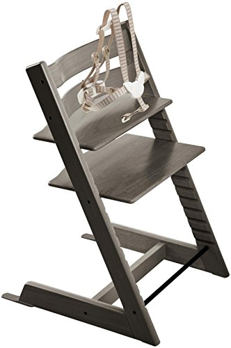 Stokke Tripp Trapp Highchair, Hazy Grey, One Size by Stokke