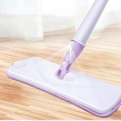 DFJU 2 em 1 Spray Mop limpador de Piso e Janela com almofadas de Microfibra - Ideal para Madeira Dura, Laminado, ladrilhos e muito Mais