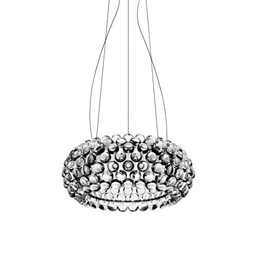 Foscarini Caboche Lampe à suspension LED, moyenne, 35 Watts, transparent
