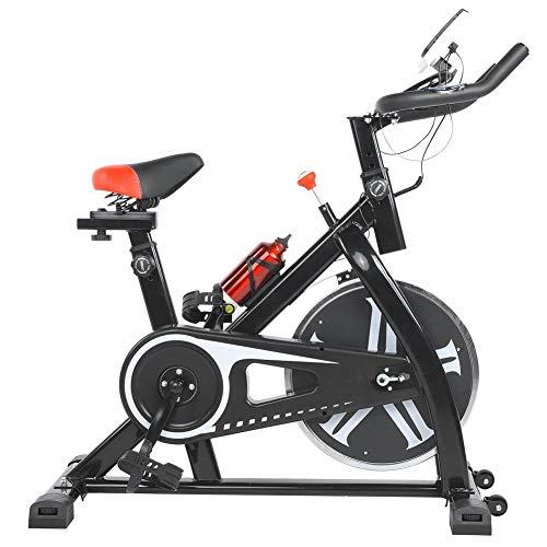 lahomie Bicicleta Estática Plegable, Profesional Ciclismo Estacionario Entrenamiento Fitness Cardio Ejercicio Quema de Grasa Interior Fitness Accesorio