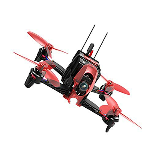 Walkera Rodeo 110 Micro Indoor Mini RC FPV 110mm RTF BNF DEVO 7 Transmitter 6 Minutes Flying Time TX 600TVL Camera Quadcopter Racing Drone (BNF)
