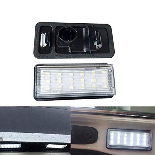 GOFORJUMP Kit d'éclairage de Plaque d'immatriculation Blanche de la Voiture LED pour L/EXUS LX470 GX470 T/oyota Land C/Ruiser 120 P/rado Land C/Ruiser 200