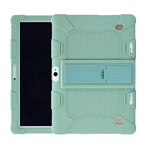 para BDF Android 6.0 Quad Core Funda de Silicona para Onda V10 X20 3G 4G 10.1inch Tablet Funda Trasera de Silicona Funda Protectora Suave-Azul Marino