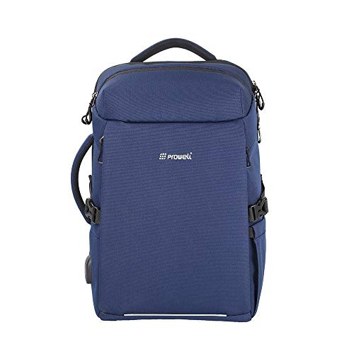 PROWELL NB53167 Multi - Function Shock Absorbing Laptop Backpack_Color:Blue