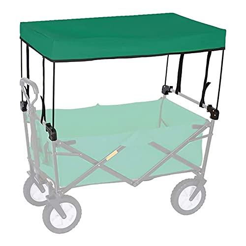 DFGH Al Aire Libre Tire del Techo del Coche para el Coche de Camping, carros pequeños, Tiendas de comestibles, carros, cochecitos,Plegable portátil Carro Accesorios- toldo(Lluvia y protecciónsolar)