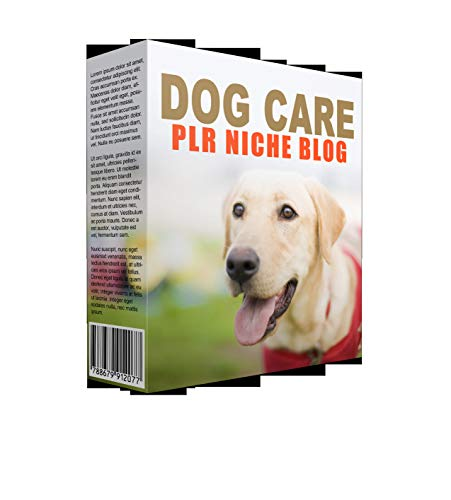 Dog Care Niche Blog PLR Template with Private Label Rights (English Edition)