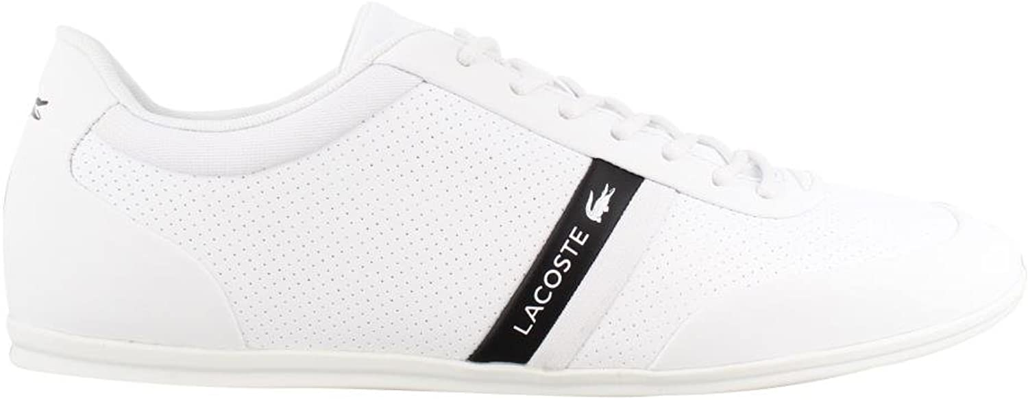 Lacoste Mens Storda 318 1 Leather Ortholite Casual shoes