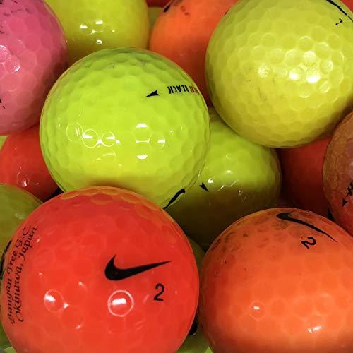 Bランク ナイキ 各種混合 カラーボール 30球 ロストボール 【ECOボール】