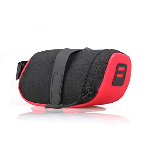 Fantastic Deal! HWB Seat Bag,Bike Seat Saddle Wedge Pack Pannier Storage Bag Mountain Road MTB Bike ...