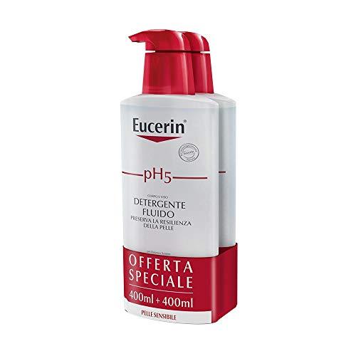 Eucerin Ph5 - Detergente Fluido, 2 x 400ml