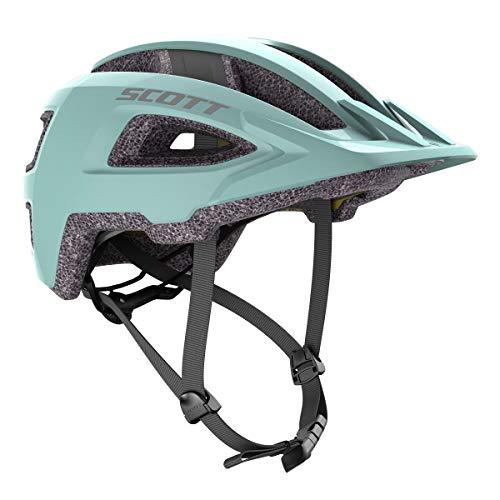 Scott Groove Plus Fahrrad Helm surf blau 2021: Größe: S/M (52-58cm)
