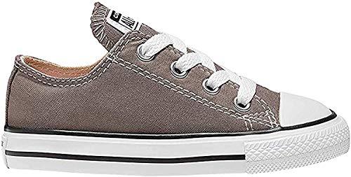 Converse Ctas Season Ox - Zapatillas para niños, color gris (anthracite), talla 26