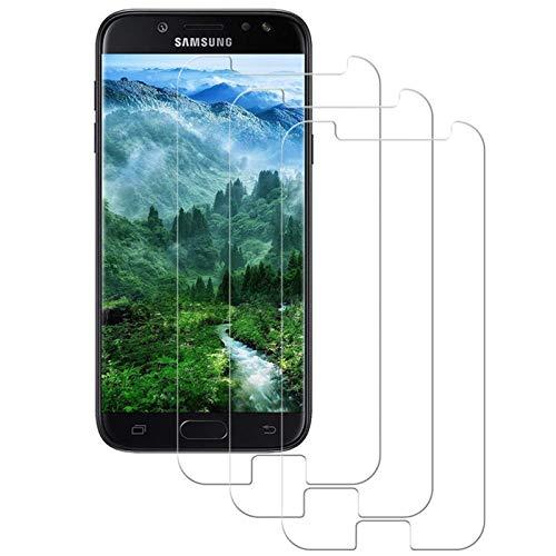 DOSMUNG [3 Pack Vetro Temperato per Samsung Galaxy J5 2017, Pellicola Protettiva per Samsung J5 2017 [9H Durezza] [Tocco 3D] [HD Alta Trasparenza] [Resistenza ai Graffi] Galaxy J5 2017 Tempered Film