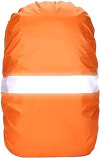 Negro Impermeable y a Prueba de Polvo Ultraligero y Ajustable Mochila de Viaje de Viaje Mochila Funda Antipolvo 30-40L Zinniaya Nylon Rojo