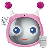Benbat OLY Active Baby Car Seat Mirror with Remote Control (Pink)