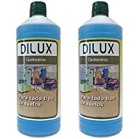 Dilux - PACK 2 QUITACERAS para suelos encerados 2x1 L
