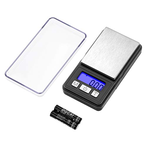 Fuzion Digital Pocket Scale,Mini Scales 100g/0.01g,Digital Jewelry Scale with tray,Gram Scale with 6 units conversion, Tare, LCD Display