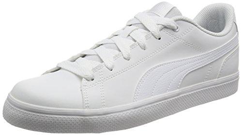 PUMA Smash v2 L Jr, Zapatillas Unisex Adulto, White White, 38 EU