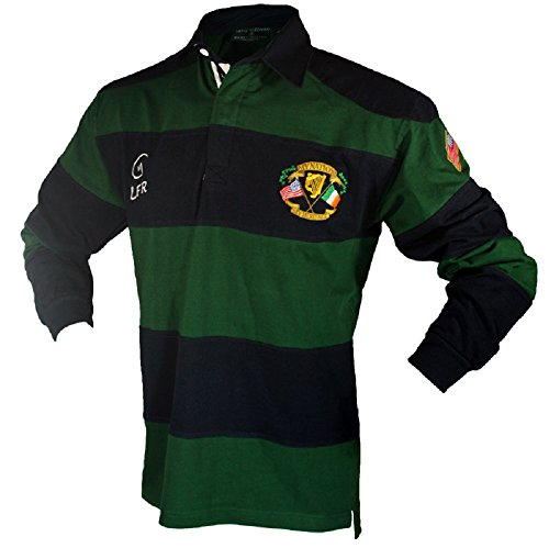 Silky Sullivan Collection Men's Long Sleeve Ireland Rugby Jersey (L)